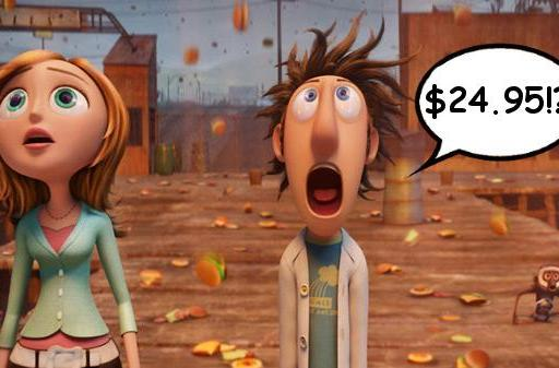 Sony streaming Cloudy with a Chance of Meatballs free to new customers, expensively to existing ones