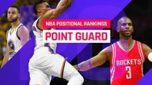 Top 15 NBA point guards for 2017-18: Russell Westbrook, Stephen Curry battle for top spot