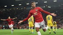 Manchester United 1-0 Astana: Teenager Mason Greenwood rescues United with first senior goal