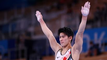Olympics-With 'King' Kohei gone royal rumble set for all-around crown
