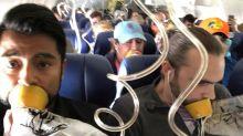 Der Beweis, dass man die Sicherheitshinweise im Flieger wirklich immer beachten sollte