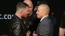Michael Bisping Says Georges St-Pierre Cancellation is News to Him