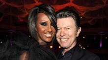 Iman posts rare shot of herself and David Bowie on what would be their wedding anniversary