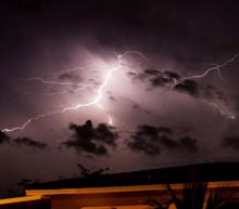 Man dies after he and wife are struck by lightning during family vacation in Florida