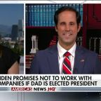 Hunter Biden promises not to work with foreign companies if dad is elected president