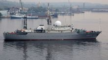 Russian spy ship 30 miles from US Navy sub base