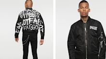Diesel under fire for jacket with homophobic slur emblazoned across it
