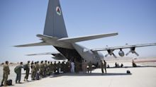 U.S. forces leave key Afghanistan military base