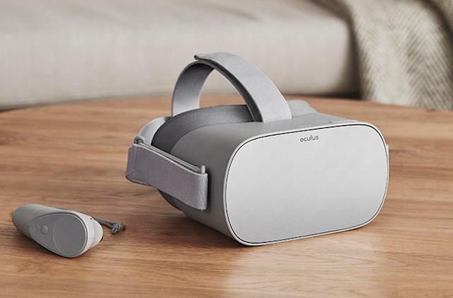 Oculus Go is a $199 VR headset that doesn't require a phone