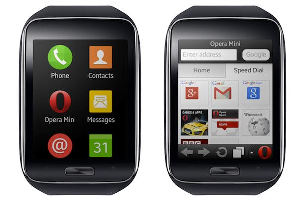 Data-saving Opera Mini browser to land on Samsung Gear S watch
