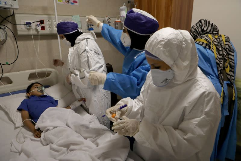Iran faces shortage of medics, beds as virus cases spike again - official