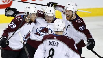 Avs deliver knockout punch to Flames