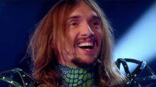 The Masked Singer: Fans stunned after Justin Hawkins unveiled as chameleon