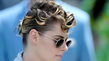 Kristen Stewart Chopped Off Her Hair and Bleached It Blonde Again