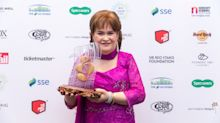 Susan Boyle says that she's now coping better with her mental health
