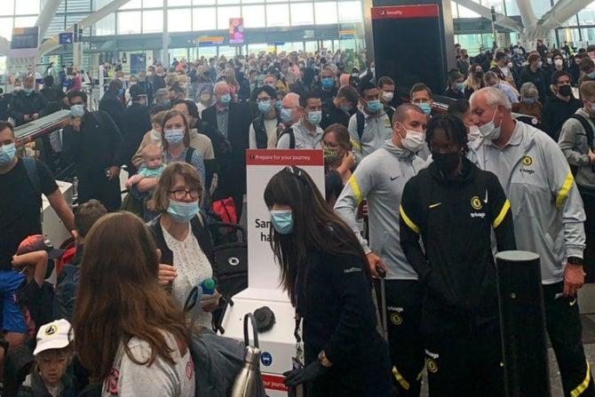Holidaymakers 'could be sat waiting on planes as 4 hours queues expected'