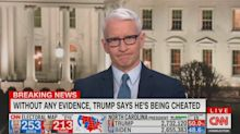 Anderson Cooper compares Trump to an 'obese turtle' following White House press conference