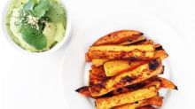 Sweet Potato Fries With Avocado Aioli