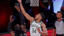 Bucks' Antetokounmpo out of Game 4 with ankle injury