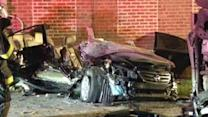 2 hospitalized after being trapped in Norristown crash