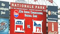 Dems Win Big at Congressional Baseball Game