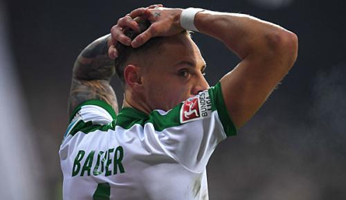 Bundesliga: Werders Bauer zurück im Training