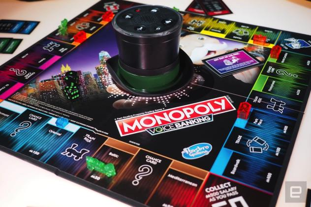 Monopoly Voice Banking isn't that smart, but it makes the game tolerable