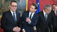 Demos but no alarm for Austria's rightwing govt