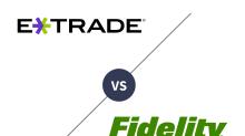 E*TRADE vs. Fidelity Investments