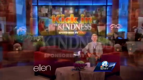 Ellen Degeneres surprises Upstate mom, girls