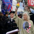 QAnon supporters suggested posing as National Guard to access capitol on inauguration day