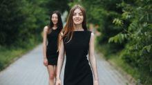 Come indossare il nero d'estate
