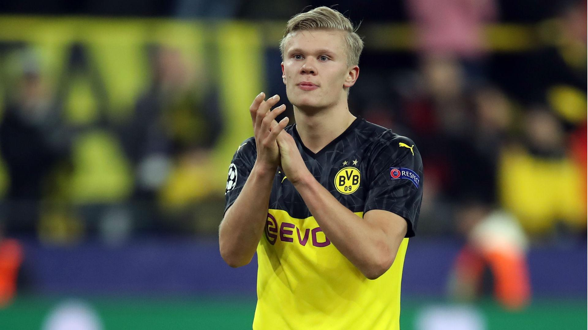 Dortmund Star Haaland Ignoring Real Madrid Talk