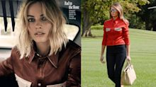 What Margot Robbie and Melania Trump have in common