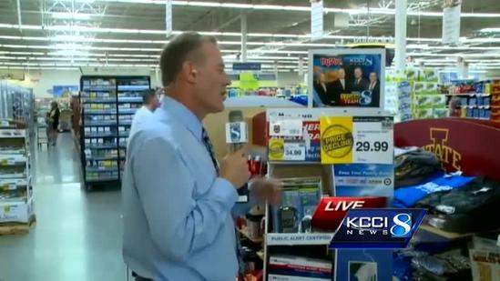 KCCI weather video forecast