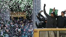 Philly goes off for Super Bowl parade 57 years in the making