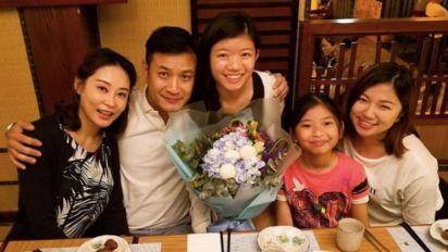 楊怡家姐楊卓娜,是幸福人妻兼最強後母!一家5口的溫馨秘訣