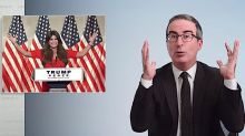 John Oliver rains fire and cold fury on the RNC 'racial panic' and the Kenosha troubles