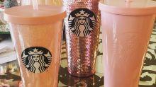 Rose gold Starbucks merch is here for Christmas!