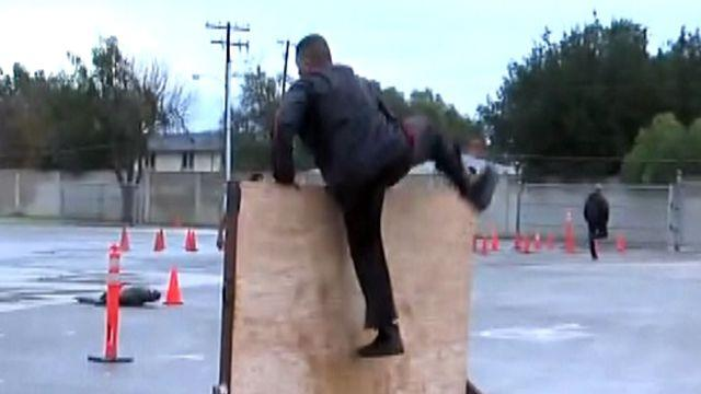 Tough obstacles for police hopefuls