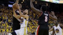 No Durant, no problem: Warriors crush Blazers in Game 2 without injured superstar