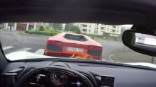 Video shows us exactly why you shouldn't get too close to a supercar