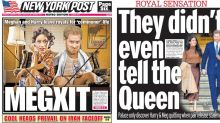 """Megxit: Wie die Presse auf Harry und Meghans """"Rücktritt"""" aus der Königsfamilie reagiert"""