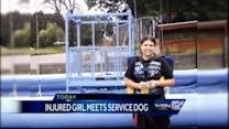 Girl injured in Dells ride to receive therapy dog