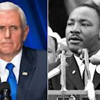 Pence Slammed for Comparing Trump's Border Wall Speech to Martin Luther King's 'I Have a Dream'