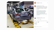 Enthüllt: Das Heck der neuen Mercedes E-Klasse (2020) ungetarnt