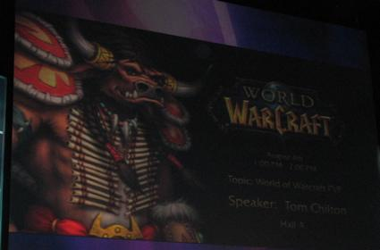 Liveblog: World of Warcraft PvP Panel at BlizzCon