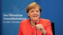 """Merkel würdigt """"unfassbaren Mehraufwand"""" der Gesundheitsämter in Coronakrise"""