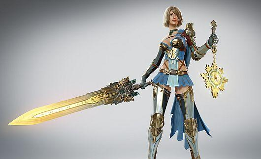 Skyforge shows off the Paladin class