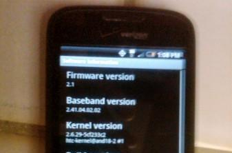 Some Droid Eris owners getting Android 2.1 update?
